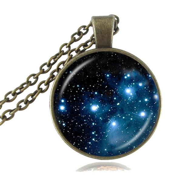 Thors Helmet Nebula Necklace