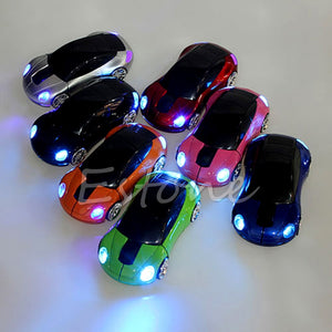3D Optical Wireless Car Shape Mouse