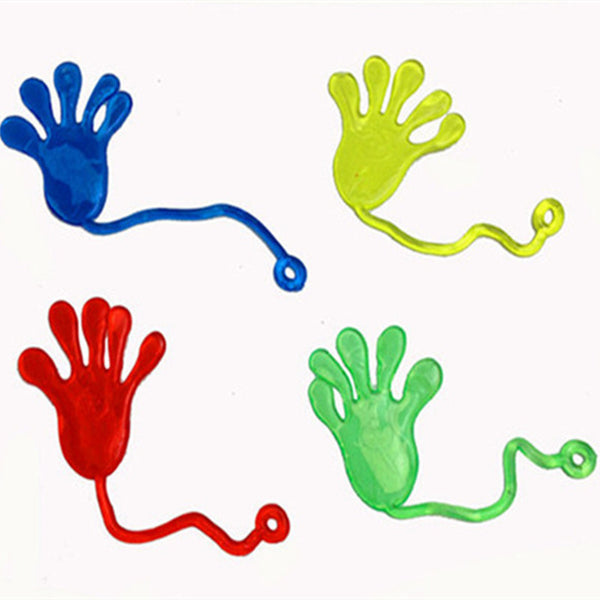 5pcs Cute Glitter Sticky Hands