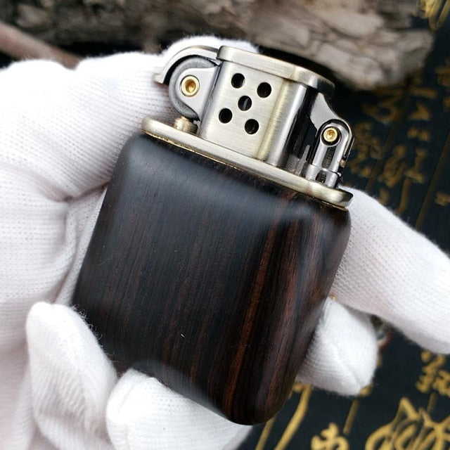ZORRO Rosewood Vintage Gasoline Lighter