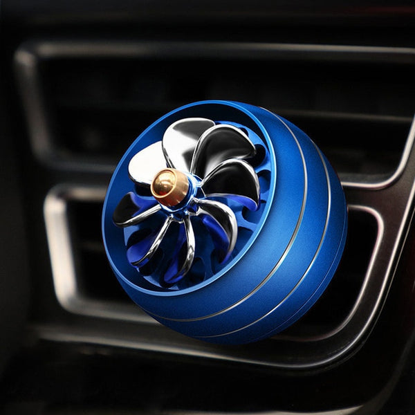 Car Air Freshener LED Lights Auto Fragrance