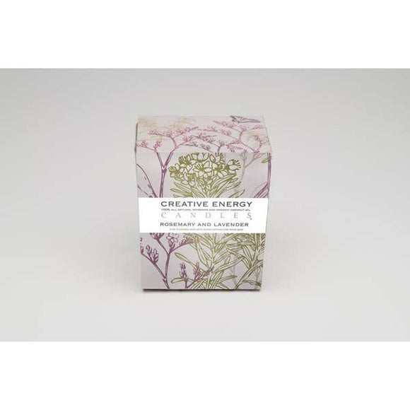 Rosemary & Lavender 2-in-1 Candle