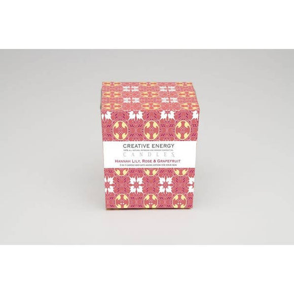 Hannah Lily Rose Grapefruit 2-in-1 Candle