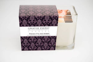 French Fig & Amber 2-in 1 Candle