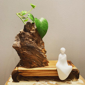 Tranquil Wood Sculpture