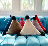Triangle Plush Pillow