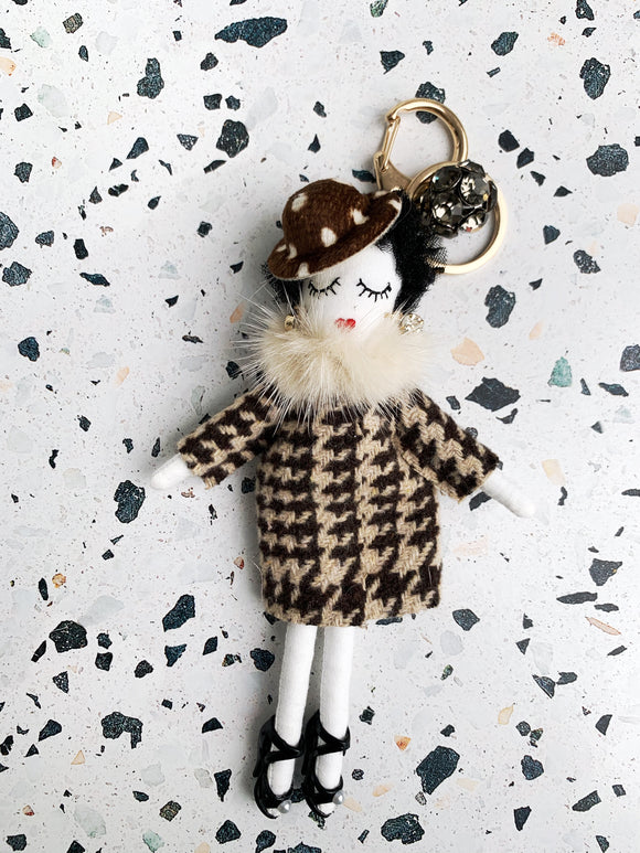 Manhattan  Doll Keychain