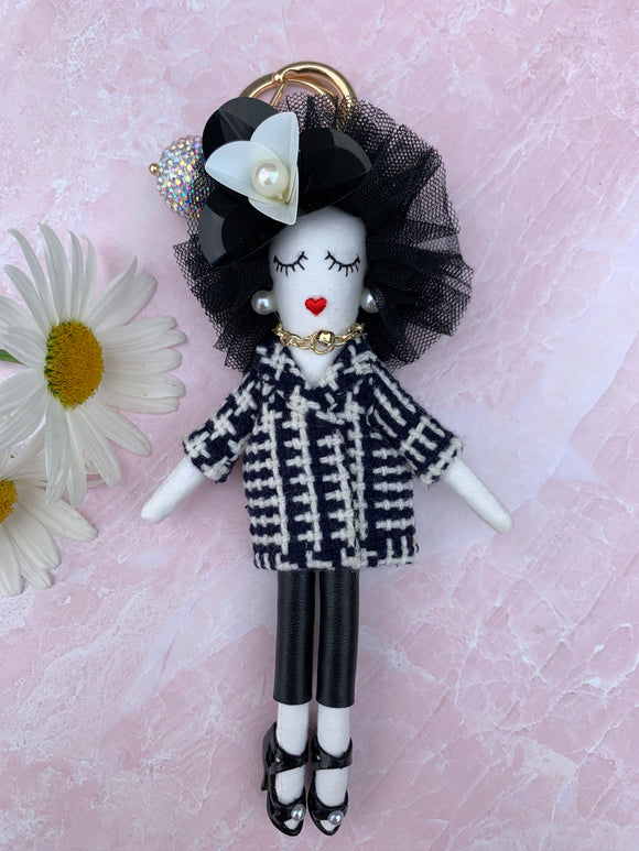 Upper East Side Doll Keychain