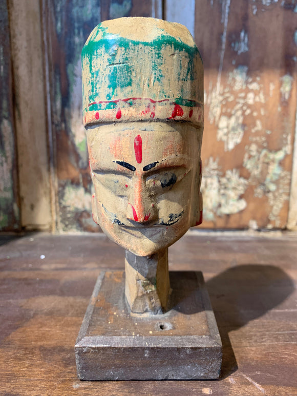 Vintage Indian Puppet Head