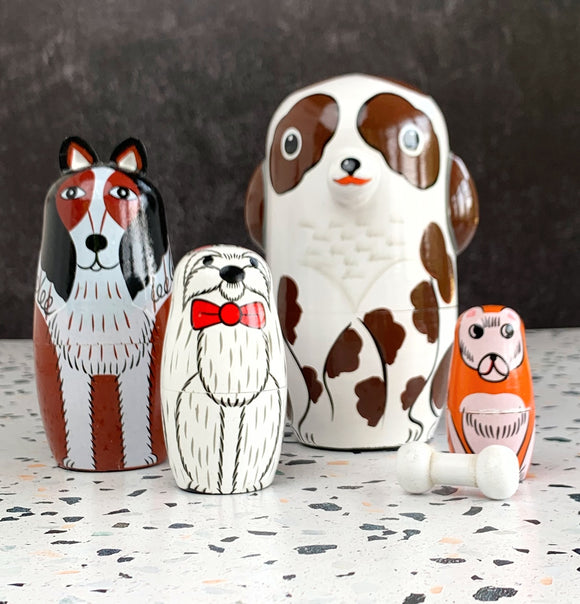 Buddy and Friends Nesting Doll