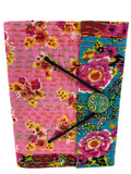 Colorful Indian Kantha Journal