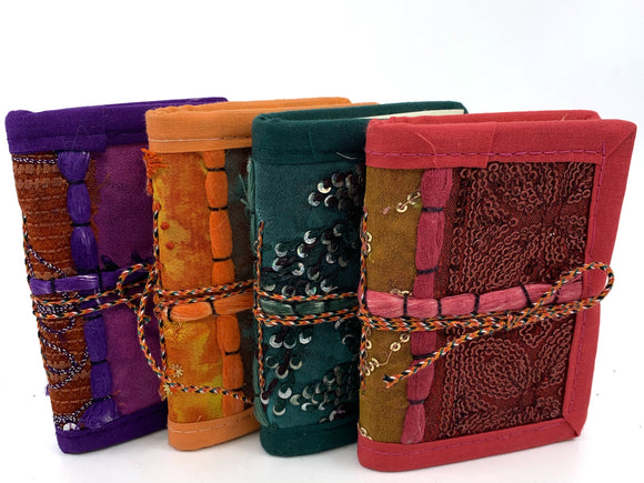 Embroidered Indian Journals
