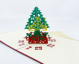 Christmas  Green Tree Pop-up Card