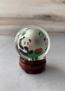 Painted Glass Ball