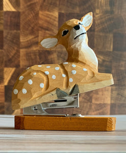 Wooden Deer Stapler