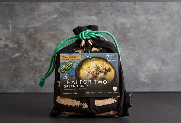 Thai For Two Cooking Kit-Organic Green Curry