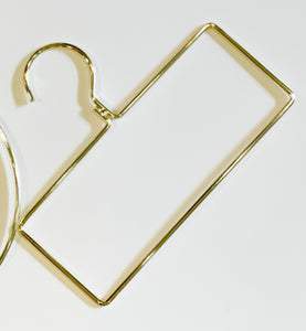 Gold Rectangle Hanger