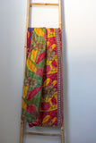 One-of-a-kind Kantha Quilt KN033