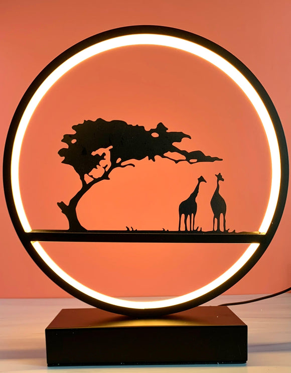 Round LED Safari  Light