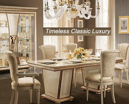 Luxury Dining Sets from Italy and Spain