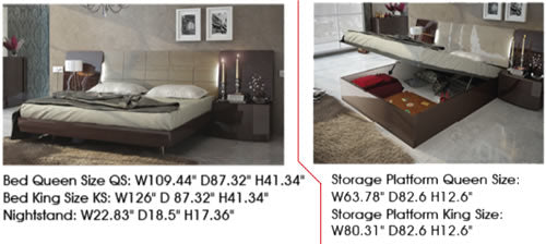 Barcelona Bed Dimensions