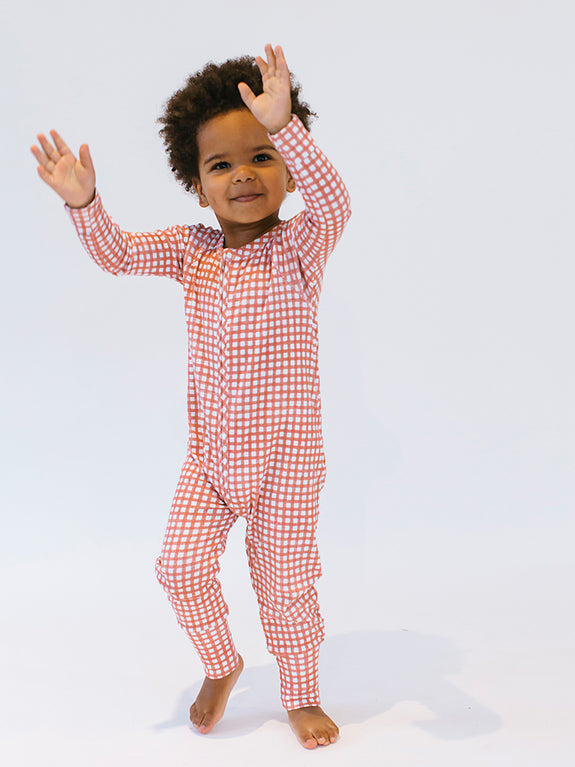 Growsuit Cherry Gingham