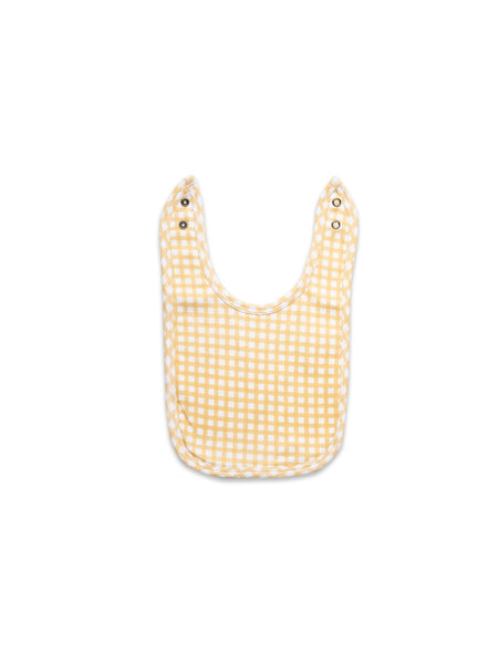 Jersey Bib Yellow Gingham