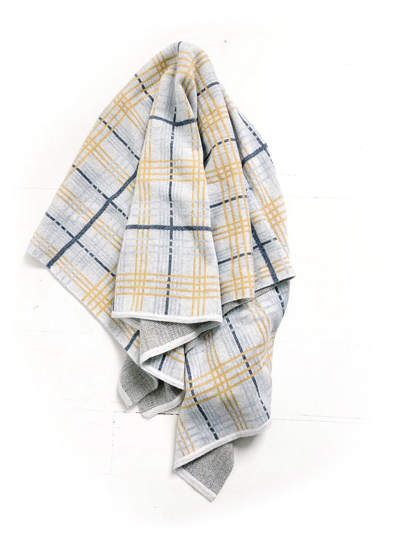 Knit Blanket Plaid