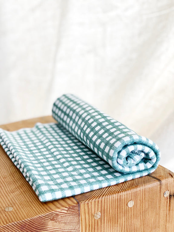 Jersey Swaddle Gingham