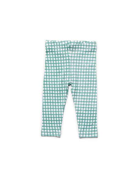 Jersey Legging Gingham Green