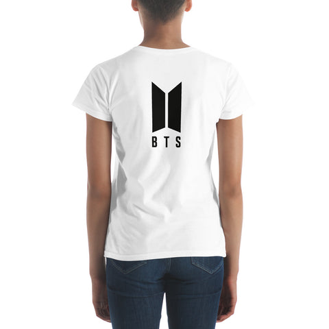 Image of BTS Suga Women's T-shirt [6 colors] - btsmerchstore.com