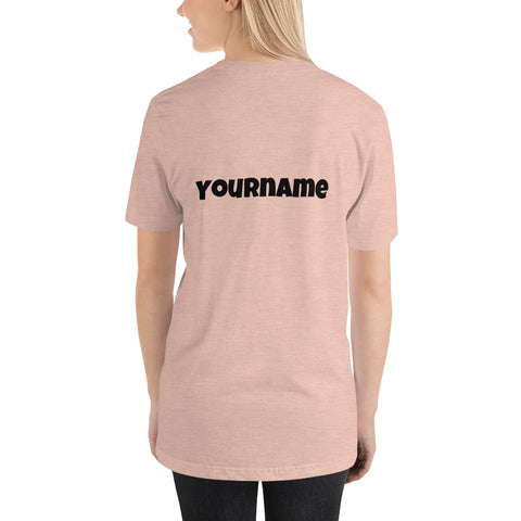 BTS T-Shirt with Customizable Name - btsmerchstore.com