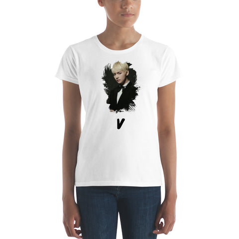 BTS V Women's T-shirt [6 colors] - btsmerchstore.com