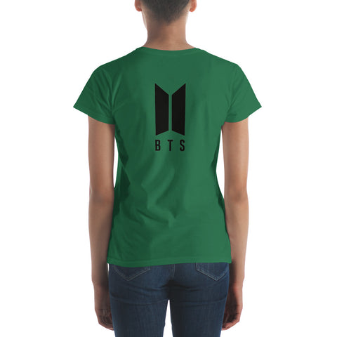 Image of BTS JungKook Women's T-shirt [6 colors] - btsmerchstore.com