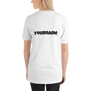 BTS T-Shirt with Customizable Name