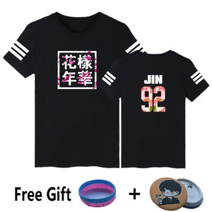 Black BTS Casual T-Shirts [All Members]