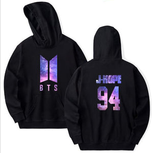 Black KPOP BTS Magic Hoodie