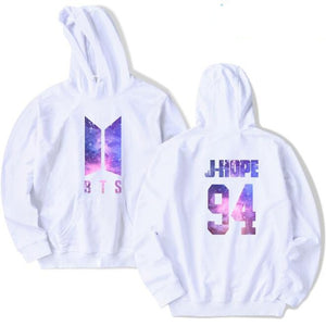 White KPOP BTS Magic Hoodie (All Members) - btsmerchstore.com