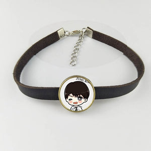 Adjustable Leather BTS Bracelet [All Members]