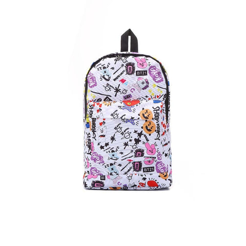 BT21 BTS School Backpack - btsmerchstore.com