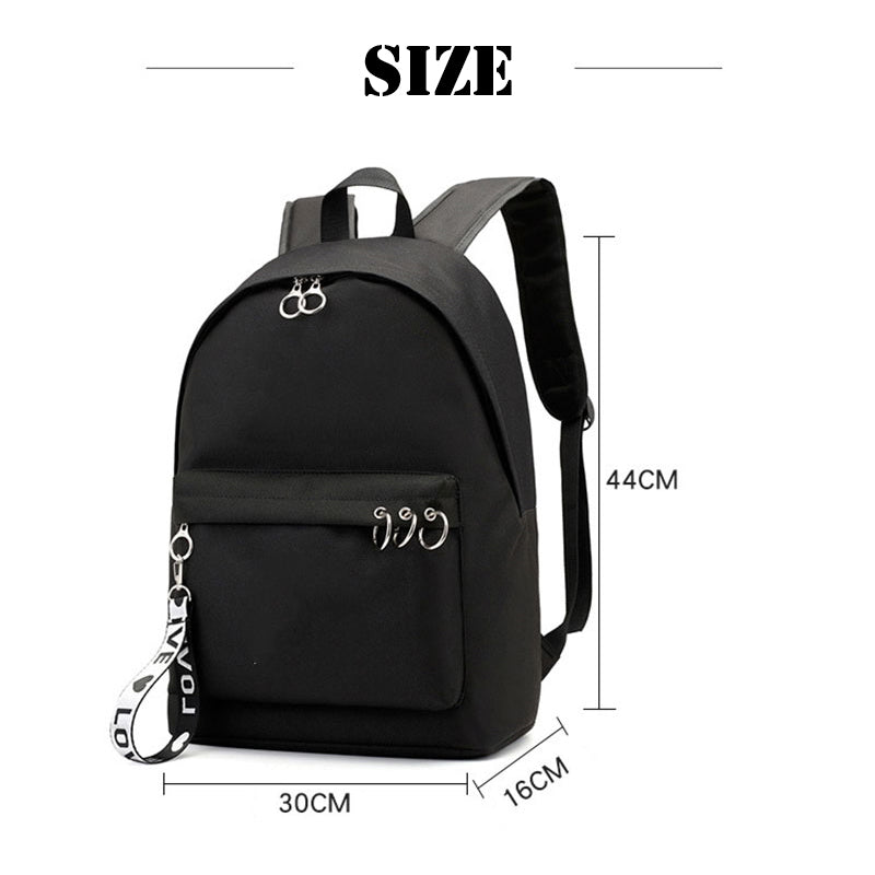 BTS Korean Style Backpack [All Member Bags] - btsmerchstore.com