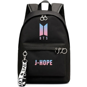 BTS Korean Style Backpack [All Member Bags]