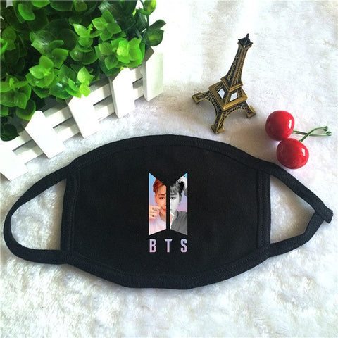 Image of BTS Dust-Proof Cotton Mouth-Muffle Face Mask - btsmerchstore.com