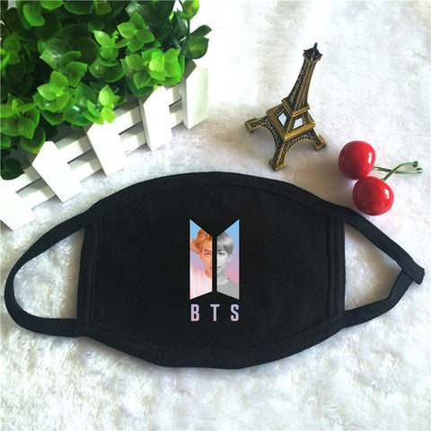 BTS Dust-Proof Cotton Mouth-Muffle Face Mask - btsmerchstore.com