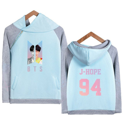 Image of BTS New Style Pullover Hoodie [All Members] - btsmerchstore.com