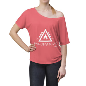 Women's Slouchy top - Pyromaniac