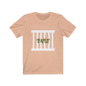 Bear Out Of the Cage Tee
