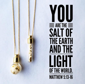 Salt and Light Cylinder