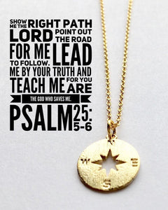 Lead Me Christian necklace