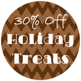 save 30% on holiday dog treats for cyber monday